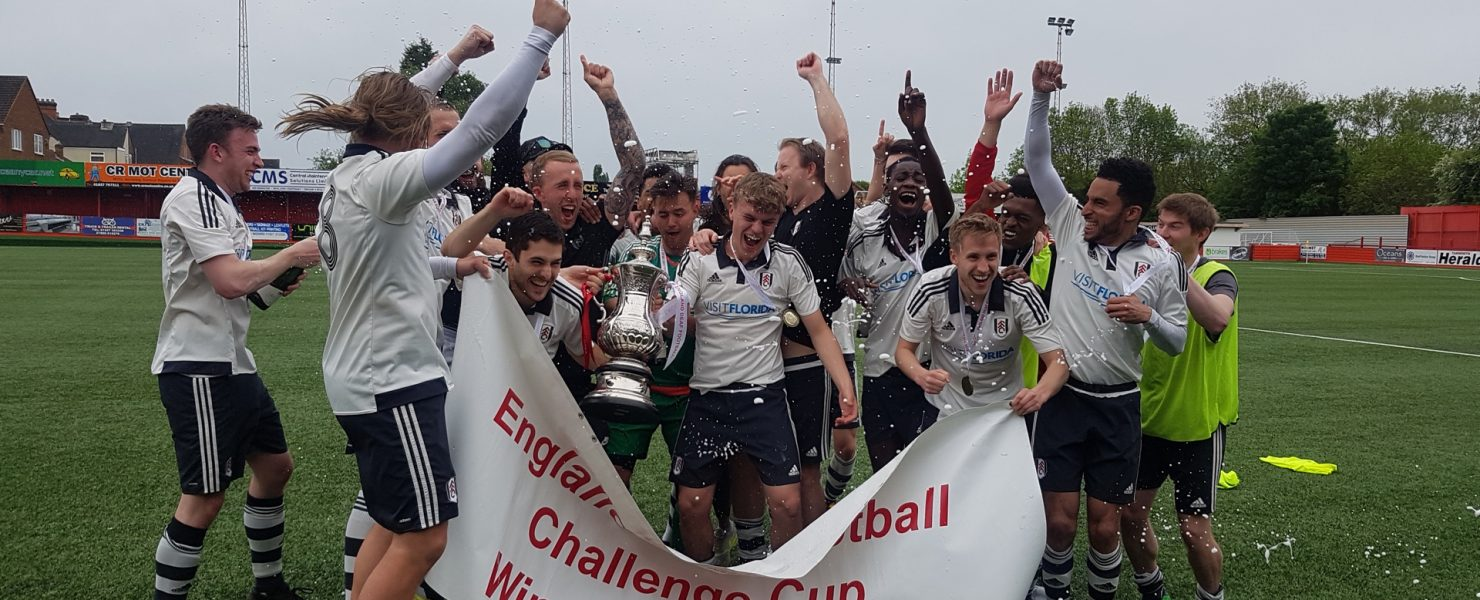 Winning the England Deaf Football Challenge Cup in the season 2017/18.